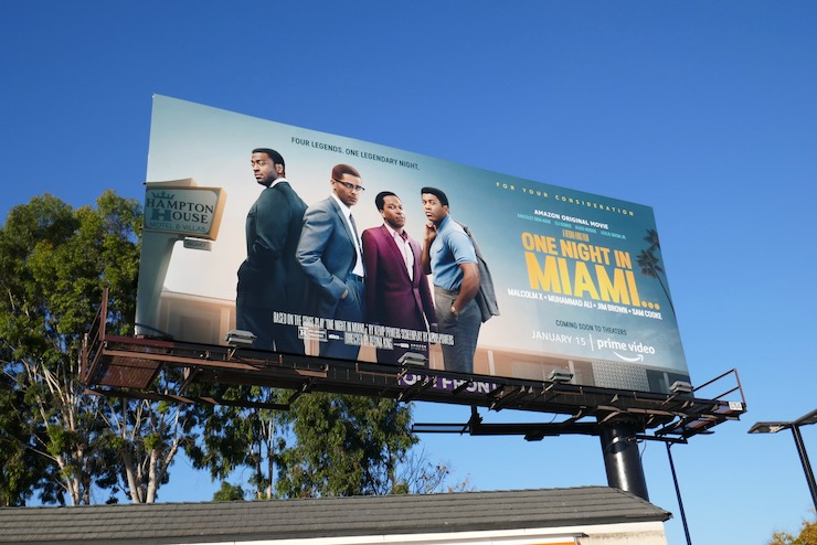 One Night in Miami film billboard