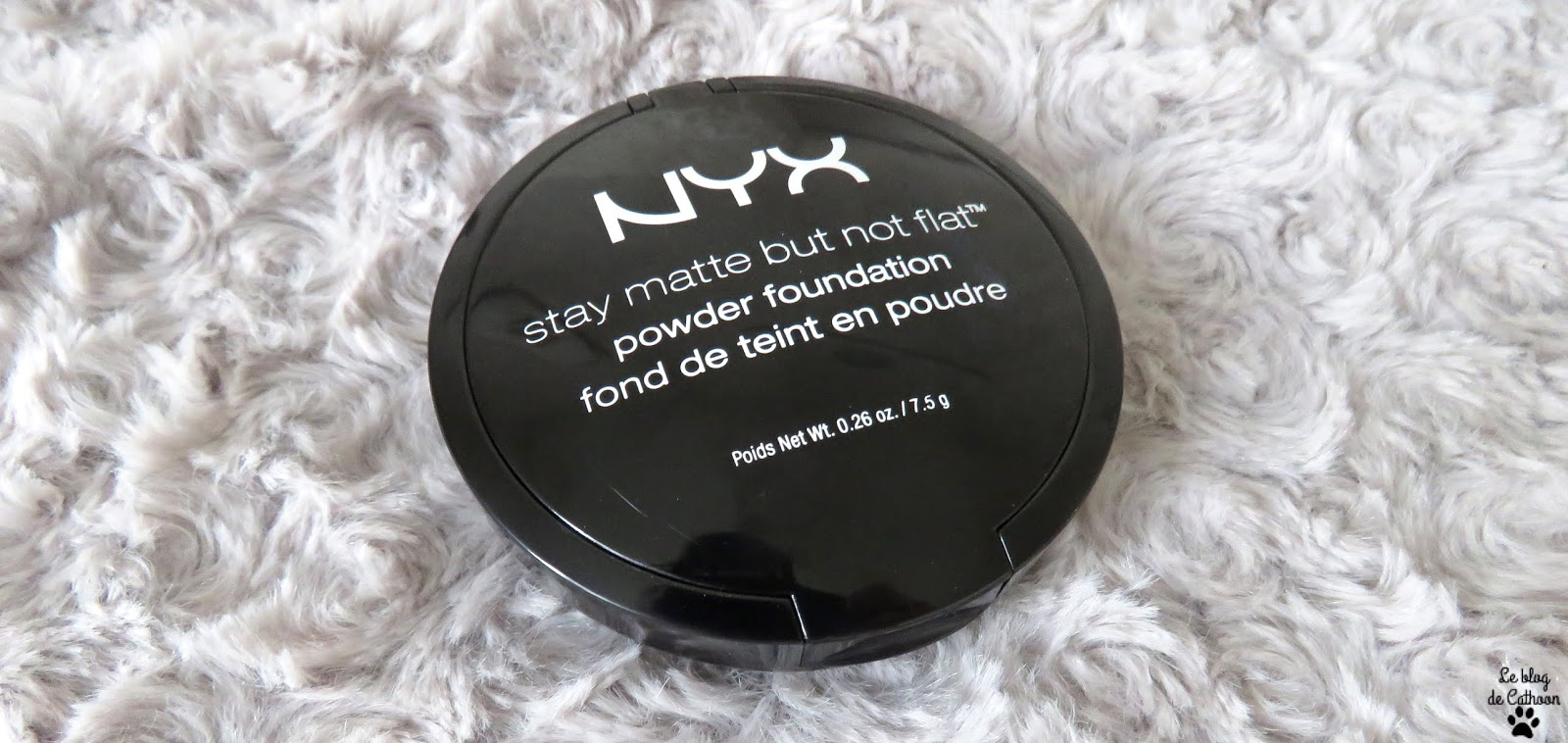 Stay Matte But Not Flat - Fond de Teint Poudre - NYX