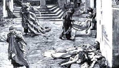 Yustinianus dan Black Death