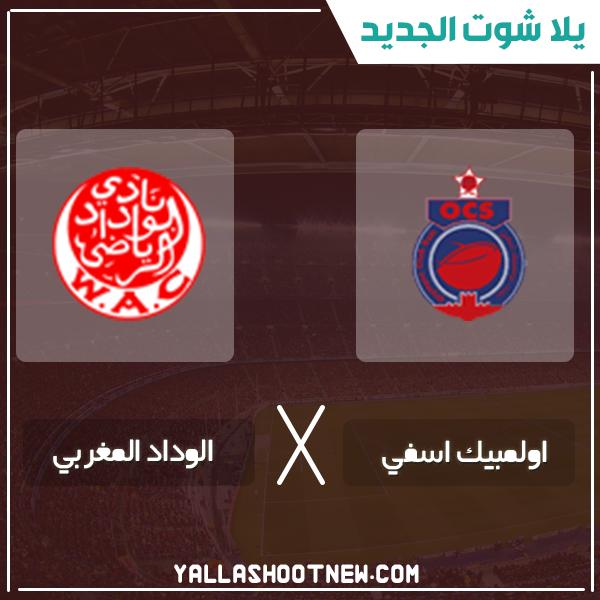 مشاهدة مباراة الوداد المغربي وأولمبيك اسفى بث مباشر اليوم 20-1-2020 في الدوري المغربي
