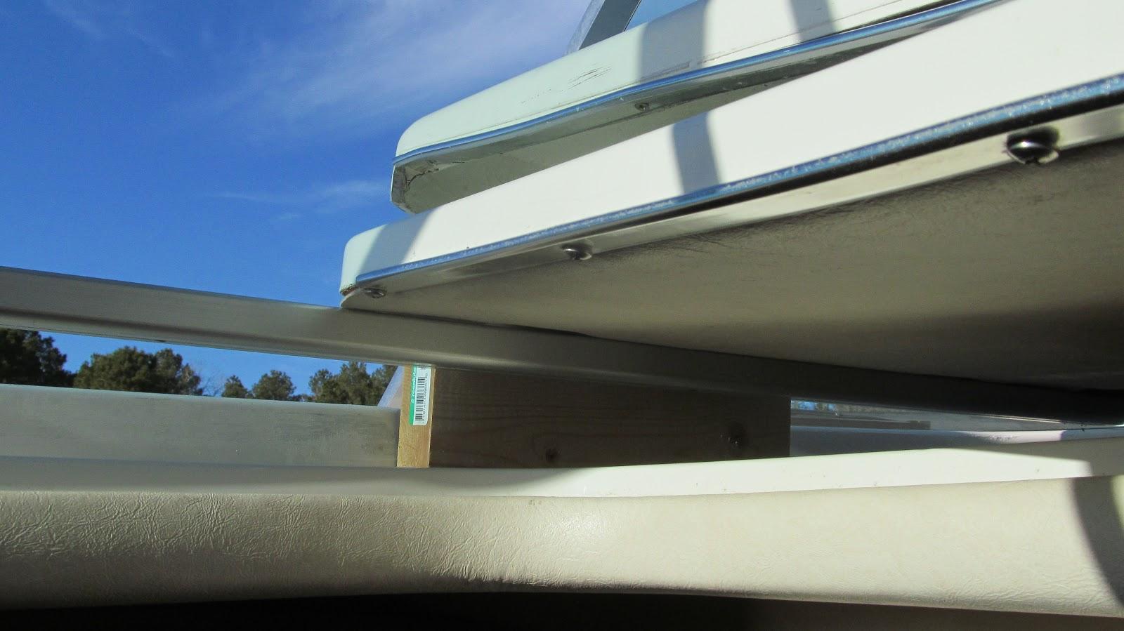 Cabin Door Upper Block Replacement | My Sea Ray Adventures