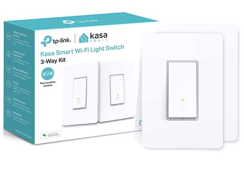 Kasa Smart 3 Way Wi-Fi Light Switch HS210 KIT
