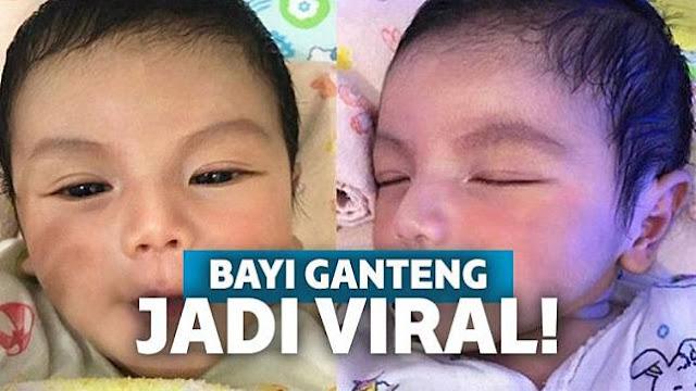 Masha Allah,  Akibat Terlalu Tampan, Foto Bayi Ini Viral di Dunia Maya!