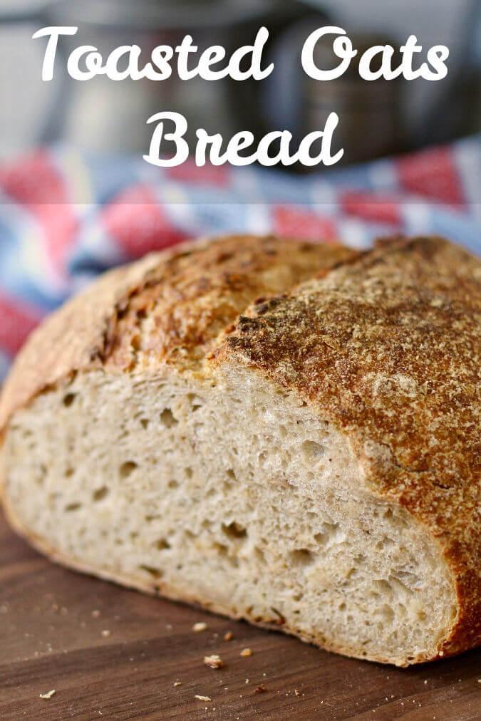 Toasted Oats Bread crumb