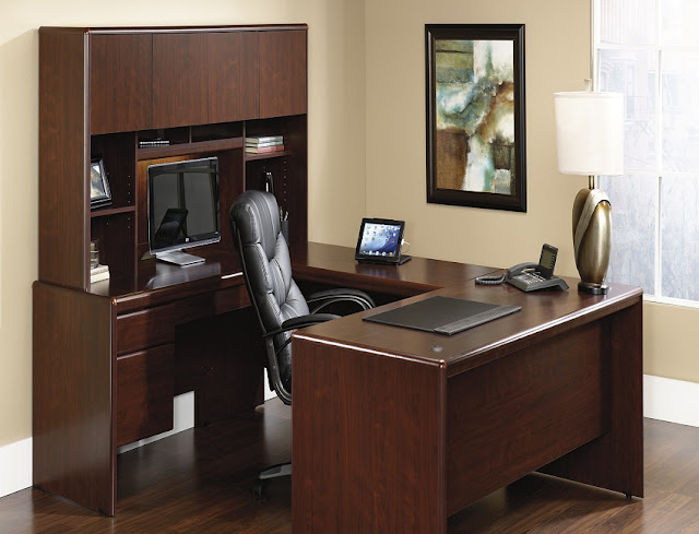 best buy ready assembled home office desk wood u shaped ideas