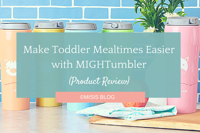 Make Toddler Mealtimes Easier with MIGHTumbler product review