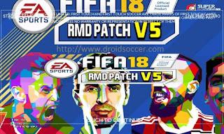 Super Soccer FIFA 18 by Rizki Dybala v5 Apk + Data Obb Android