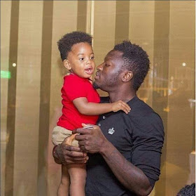 c - Ghanaian celebrities team up with their kids/dads in stylish photos to celebrate Father's day (Photos)