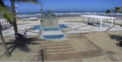 câmera ao vivo da praia grande