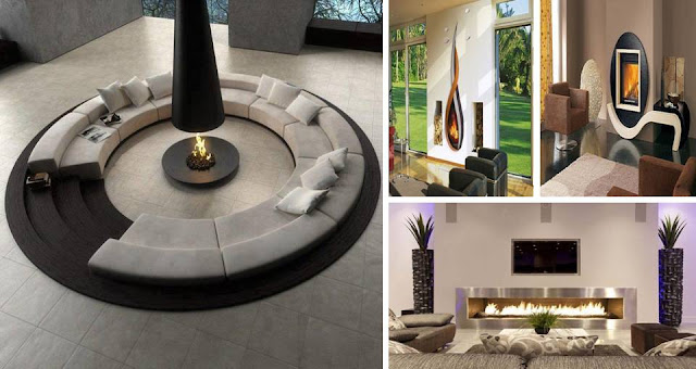 Modern Fireplaces To Keep Your Homes Warm