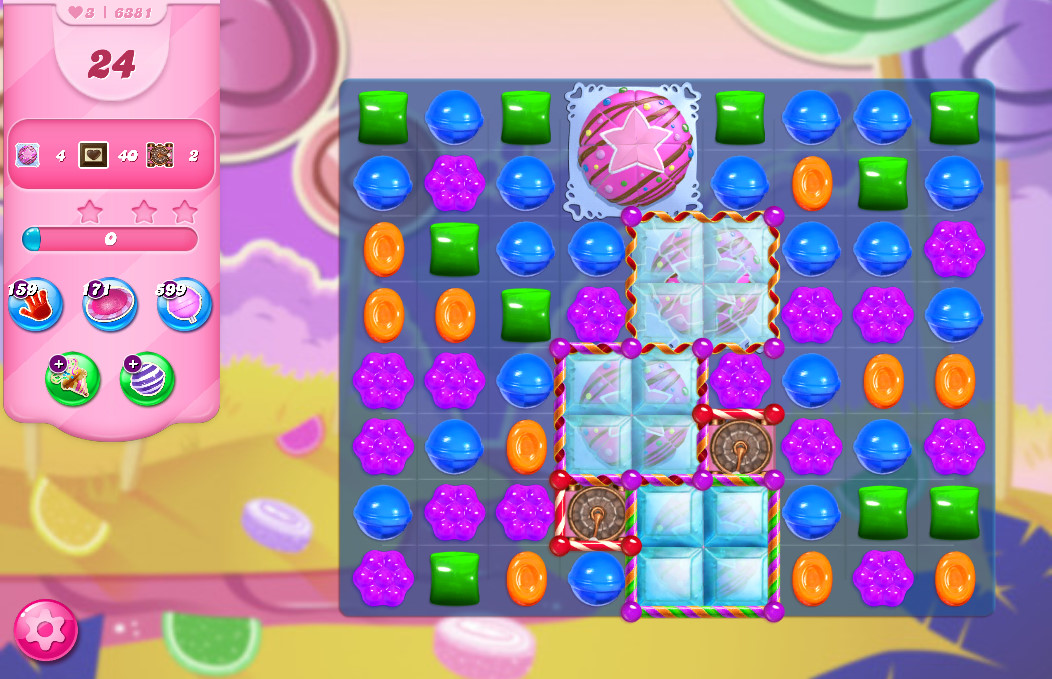 Candy Crush Saga level 6381