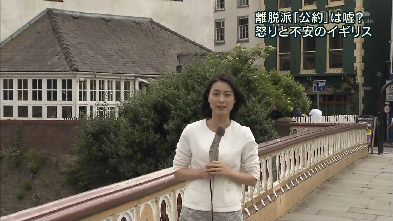現地に飛んでしっかりニュースを伝える小川彩佳