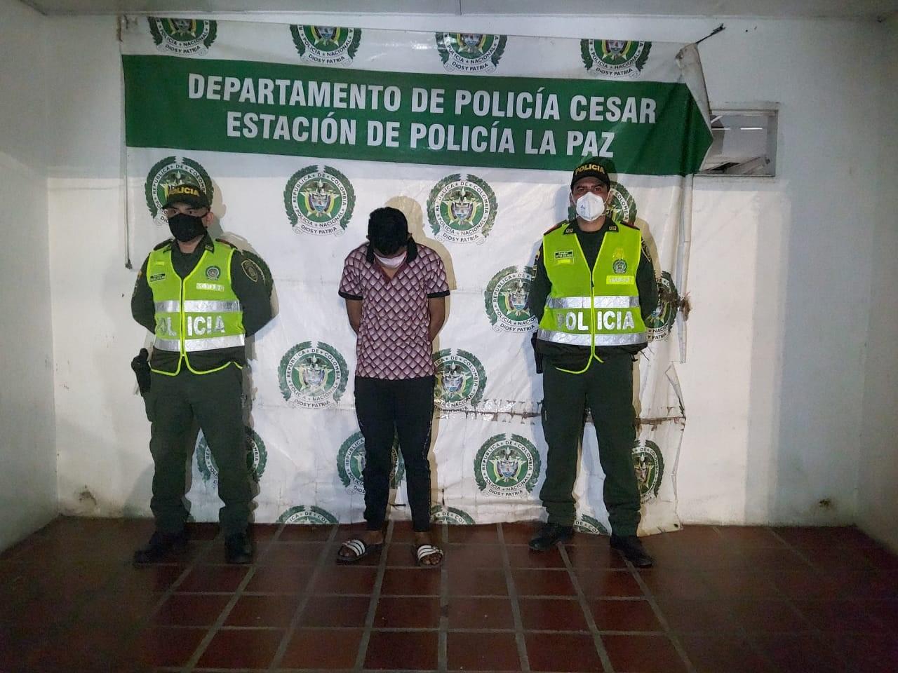 https://www.notasrosas.com/Lo capturan en La Paz - Cesar por acto sexual con menor de 14 años de edad