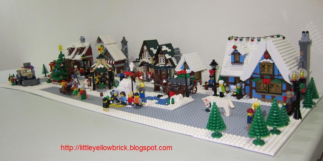 little yellow brick a lego blog our lego winter village Amazon LEGO 10229 10229 Adriana Ave Cupertino CA