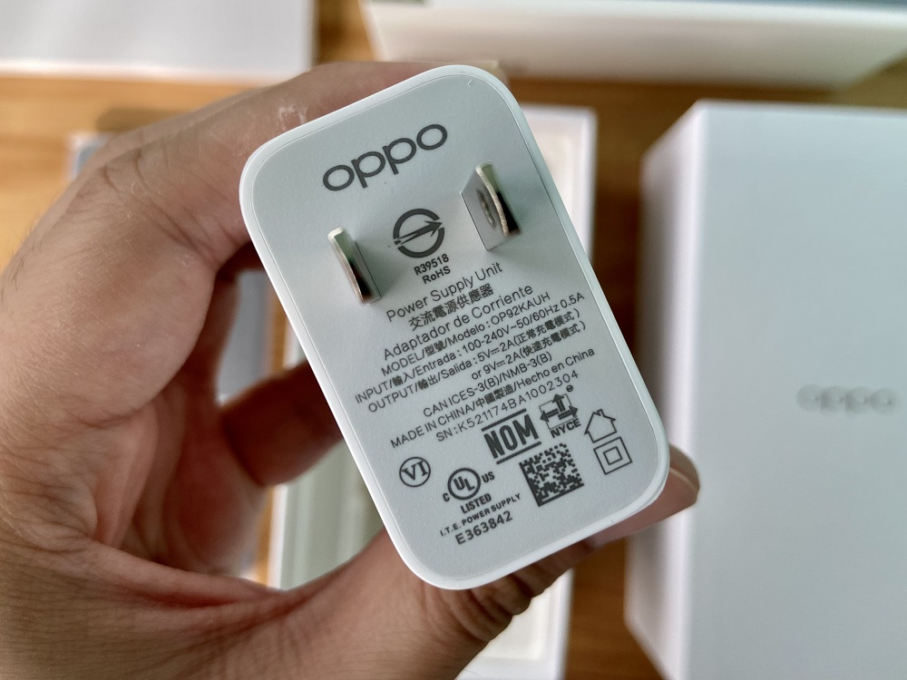 OPPO A54 - 18W Fast Charge