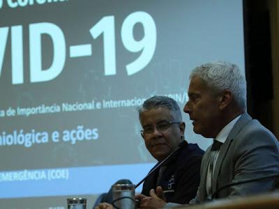 Brasil registra 3.417 casos confirmados de coronavírus e 92 mortes