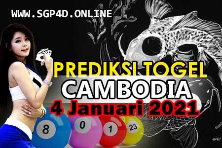 Prediksi Togel Cambodia 4 Januari 2021