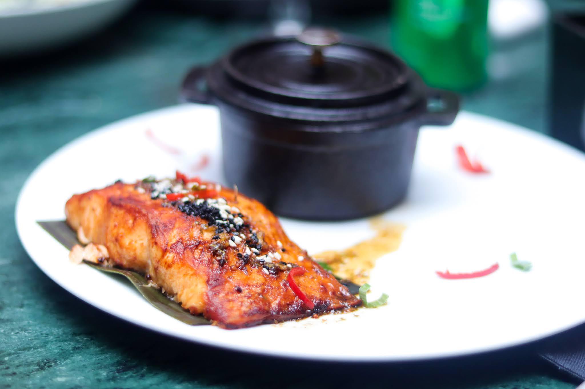 salmon and mash z kitchen lagos