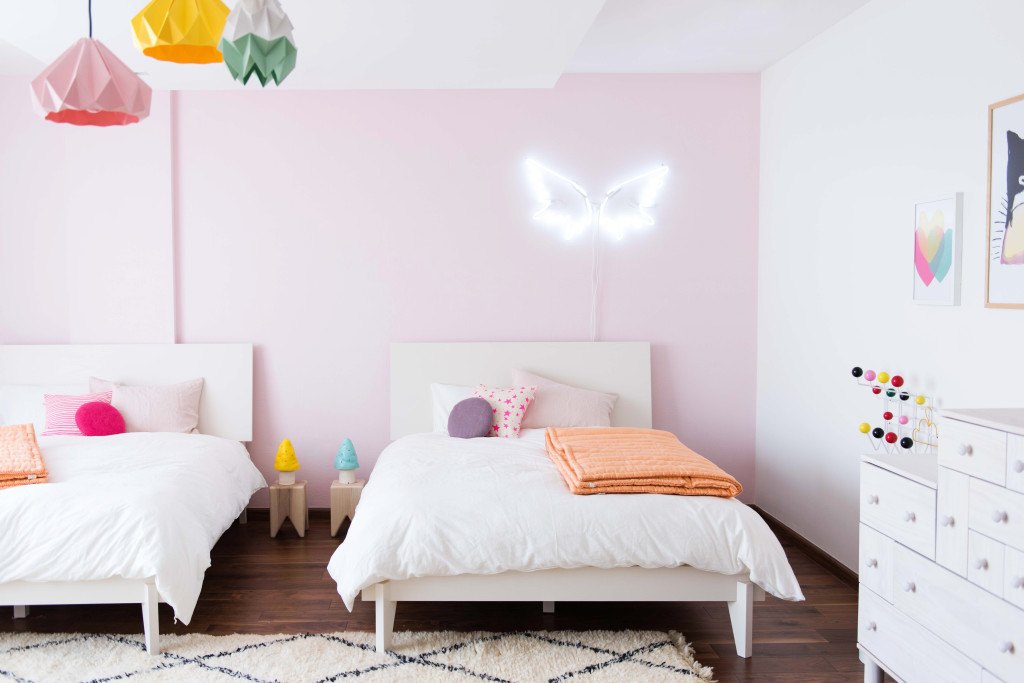 The boo and the boy live loud girl room for 3 for Ideen kinderzimmer