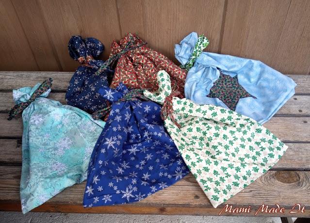 Geschenksäcke nähen - Sew Gift Bags