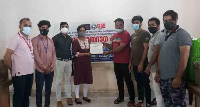 BDK delivered 104 units of blood to blood banks