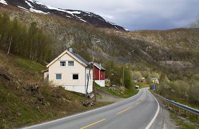 Północny Punkt Widzenia: Moja własna Śnieżka. Norweska prowincja- Kåfjord.