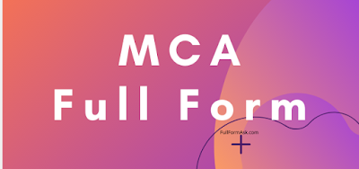 MCA full meaning