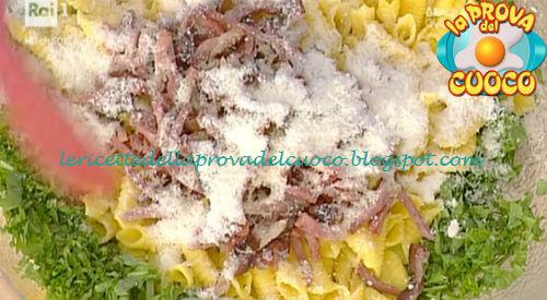 Garganelli speck e rucola ricetta Spisni da Prova del Cuoco