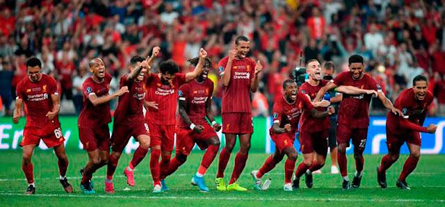 FÚTBOL: Liverpool ganó en tanda de penales  y se consagró como el campeón de la Supercopa de Europa.