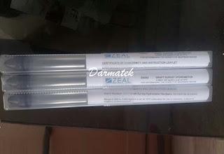 Darmatek Jual ZEAL D4040 Glass Draft Survey Hydrometer
