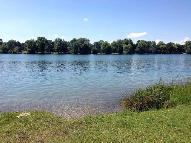 Münih'te mangal yapılabilen bir göl: Feldmochingersee