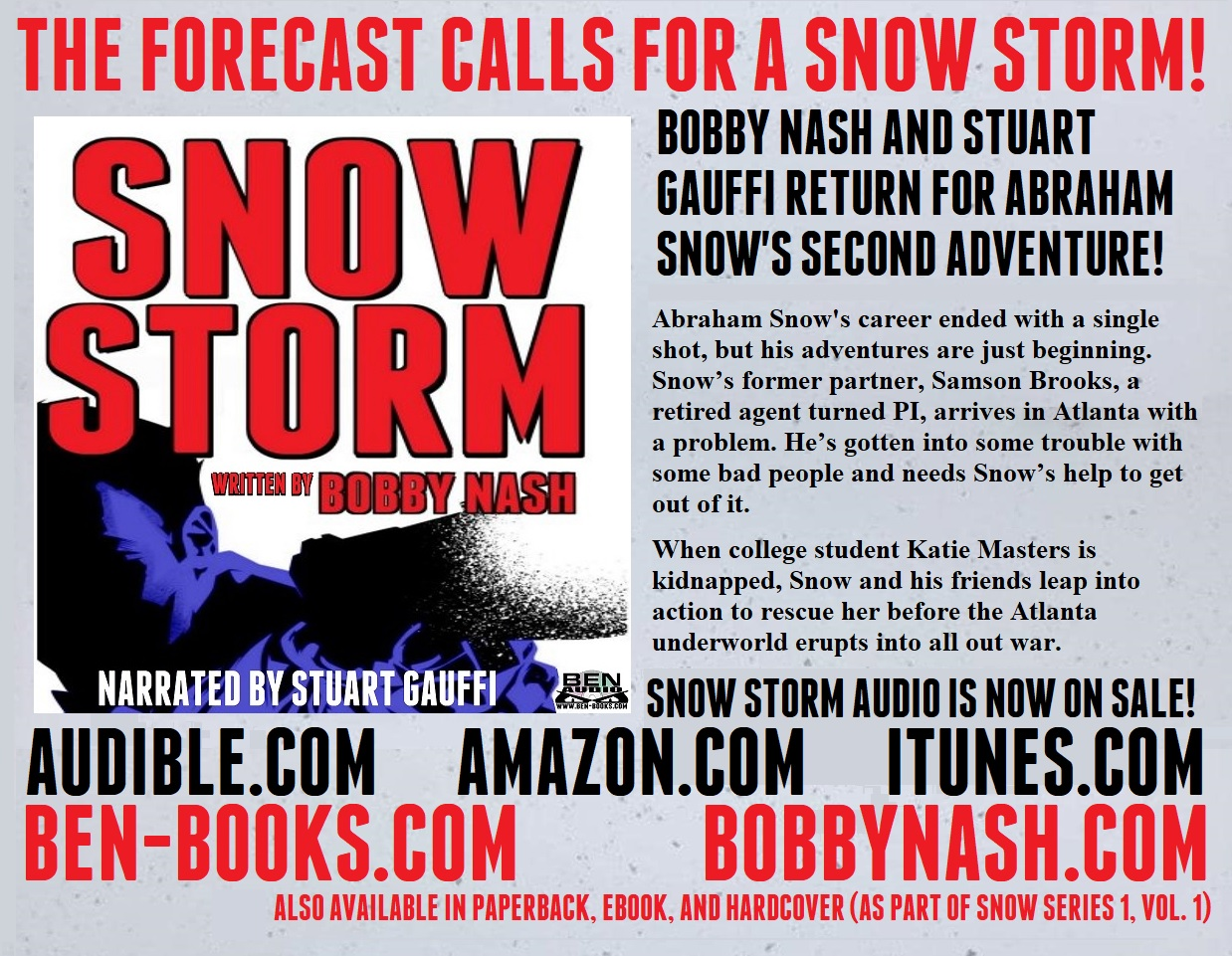 Amazon Audible Return Ben Books Snow Storm Blows In On Audio