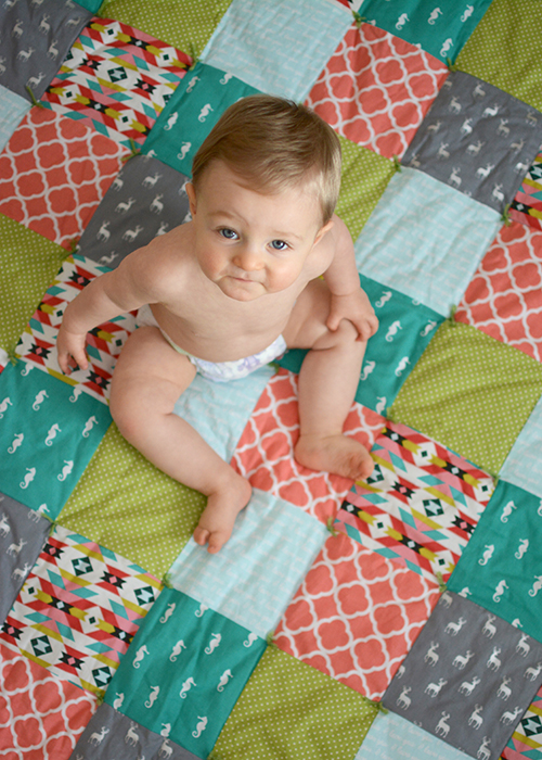 Ellis James, Baby Update - Ten Months | My Darling Days