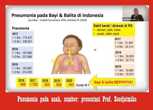 Data Pneumonia pada anak