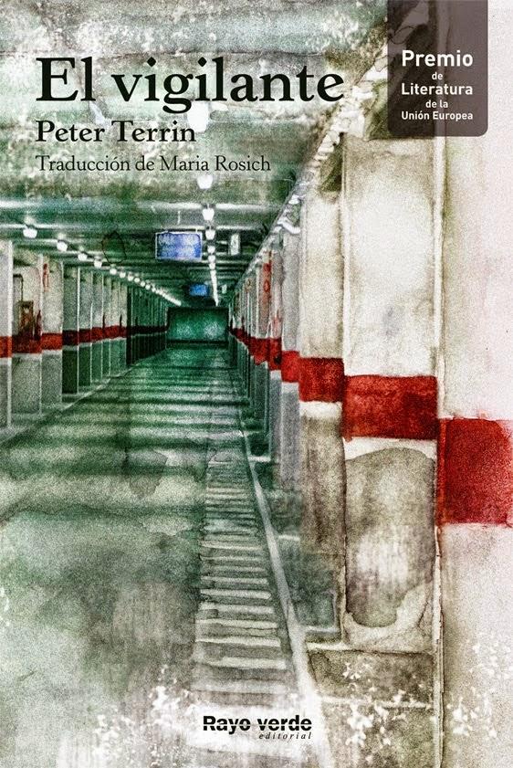 Portada de El vigilante de Peter Terrin
