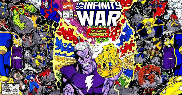 La Guerra del Infinito - Portada del Número 6