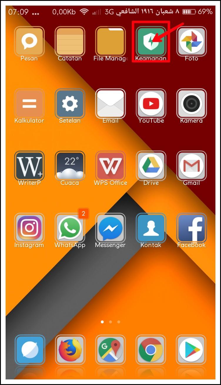 Cara menghemat kuota internet pada Hp android Xiaomi 4A - Cara Mantap