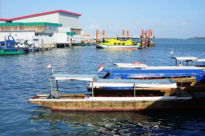 Pong Pong untuk menyeberang ke Pulau Penyengat