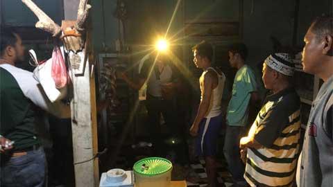 Polres Dharmasraya Tangkap Dua Tersangka Pelaku Sabu