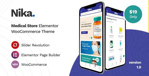 Best Medical Elementor WooCommerce Theme