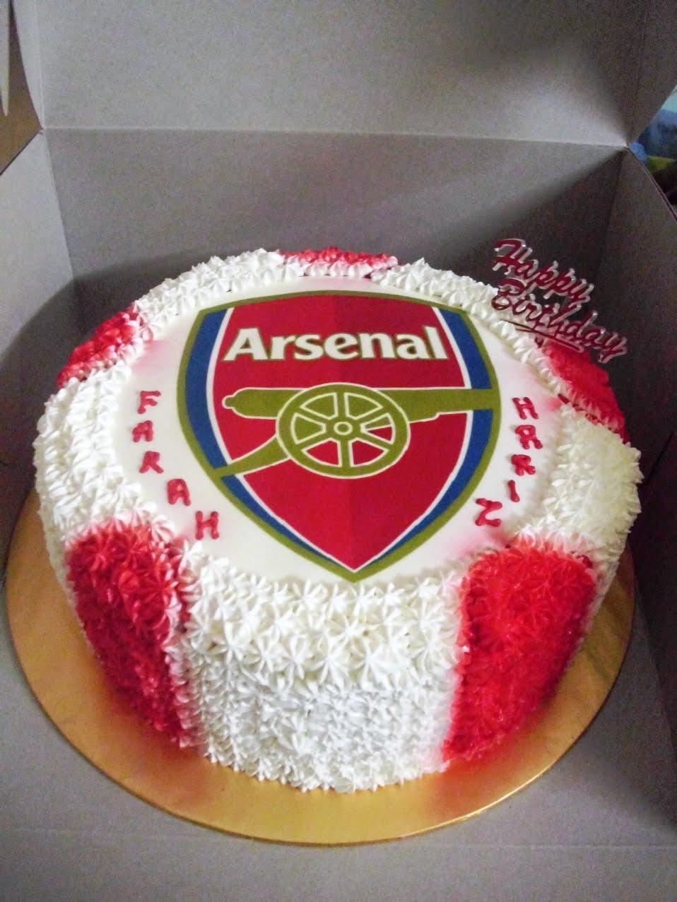 Arsenal Birthday Cakes Pictures