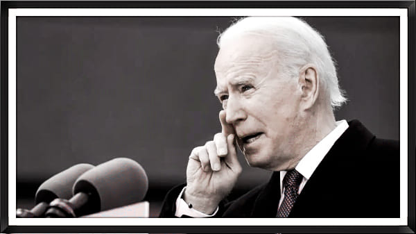 اول تقرير الرئيس الامريكي بايدن يصف فيه ان الضفه الغربيه ليست محتله