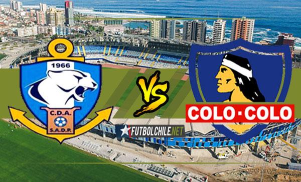 PREVIA: Deportes Antofagasta vs Colo-Colo - 12:00 h - Primera División - 03/02/18