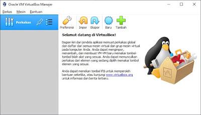 Mahir VirtualBox Dalam 5 Menit