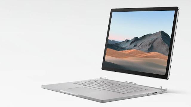 يحصل Surface Book 3 على تحديث البرنامج الثابت لشهر سبتمبر 2021