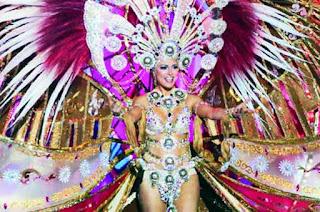 Esther Pérez  es la Reina del Carnaval de La eterna Primavera, Carnaval de Las Palmas de Gran Canaria 2017