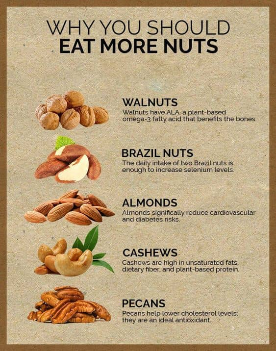 The Benefits To Eat More Nuts Every Women Should Know