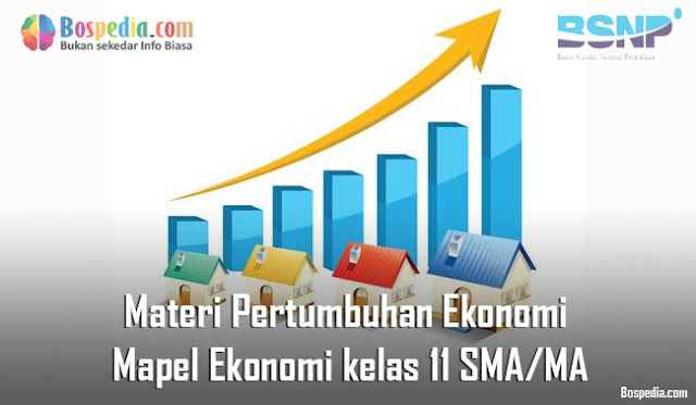 Materi Pertumbuhan Ekonomi Mapel Ekonomi kelas 11 SMA/MA