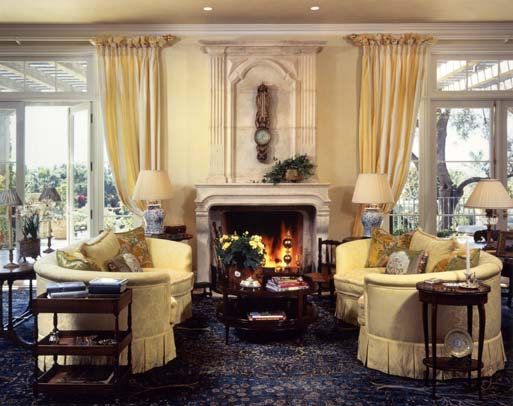 French Country Living Rooms Design