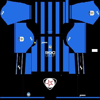 Atalanta BC 2018 - 2019 Home Kit